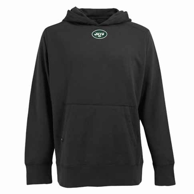 New York Jets Mens Signature Hooded Sweatshirt (Alternate Color: Black)