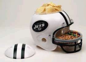 New York Jets Snack Helmet