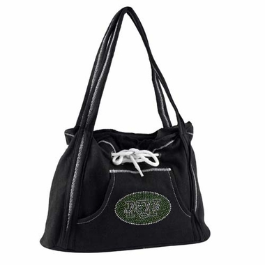 New York Jets Sport Noir Hoodie Purse