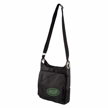 New York Jets Sport Noir Sheen Crossbody Bag