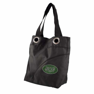 New York Jets Sport Noir Sheen Tote