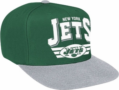 New York Jets Stadium Throwback Snapback Hat