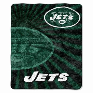 New York Jets Super-Soft Sherpa Blanket