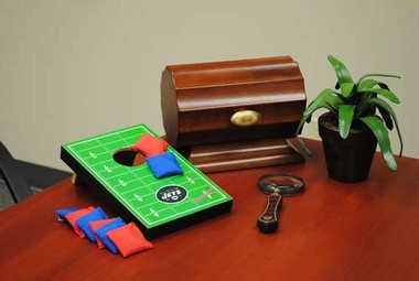 New York Jets Table Top Toss (Field Design)