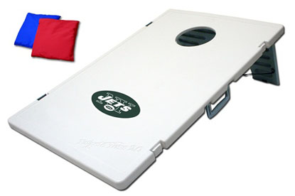 New York Jets Tailgate Toss 2.0 Cornhole Beanbag Game