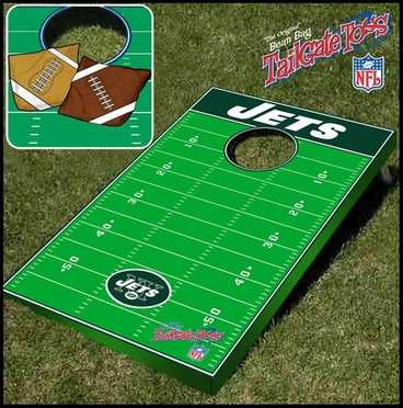 New York Jets Tailgate Toss Cornhole Beanbag Game