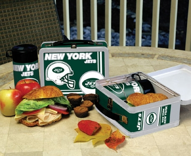 New York Jets Tin Lunch Box