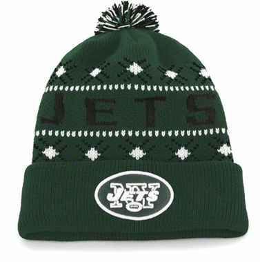 New York Jets Tip Off Cuffed Knit Hat