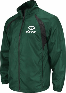 New York Jets Trainer Full Zip Lightweight Jacket
