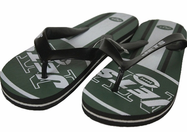 New York Jets Unisex Big Logo Flip Flops