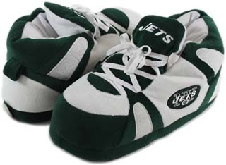 New York Jets UNISEX High-Top Slippers - Large