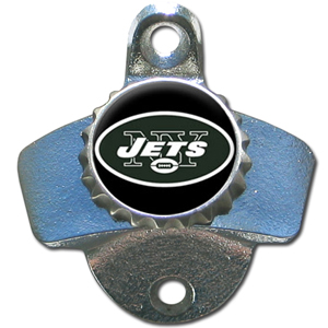 New York Jets Wall Mount Bottle Opener