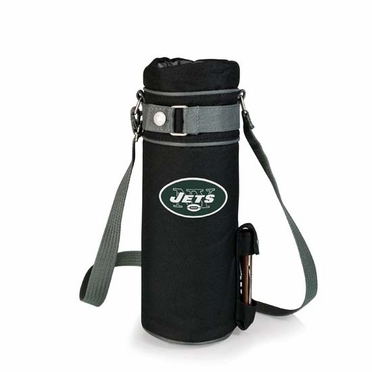 New York Jets Wine Sack (Black)