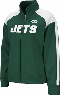 New York Jets Women's Reebok Bonded Full Zip Track Jacket