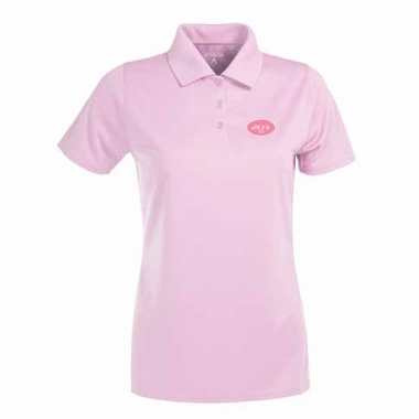 New York Jets Womens Exceed Polo (Color: Pink)