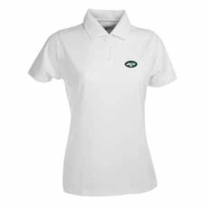New York Jets Womens Exceed Polo (Color: White) - Large