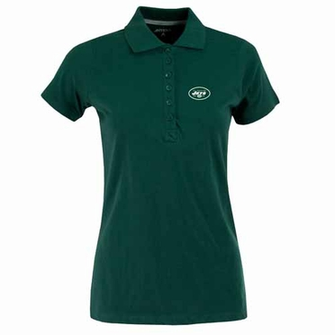 New York Jets Womens Spark Polo (Team Color: Green)