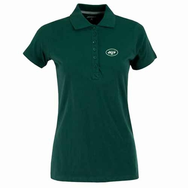 New York Jets Womens Spark Polo (Color: Green)