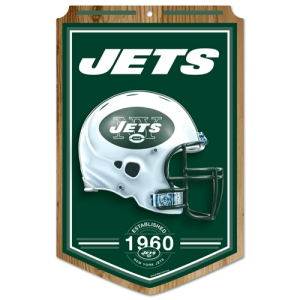 New York Jets Wood Sign