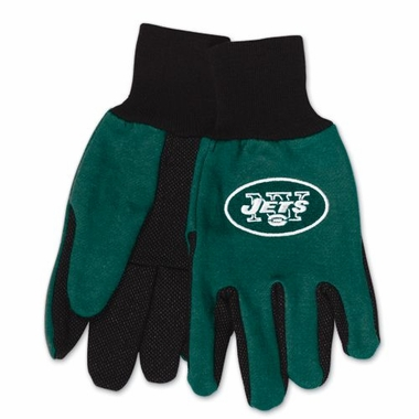 New York Jets Work Gloves (Adult)