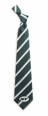 New York Jets Woven Poly 1 Necktie