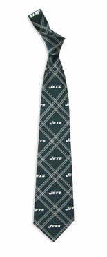 New York Jets Woven Poly 2 Necktie