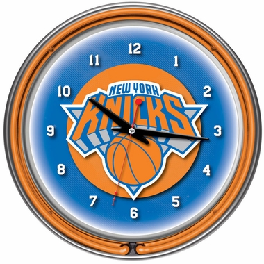 New York Knicks 14 Inch Neon Clock