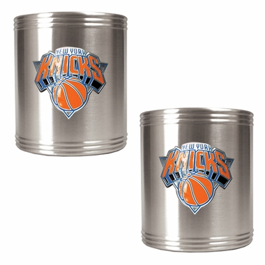 New York Knicks 2 Can Holder Set