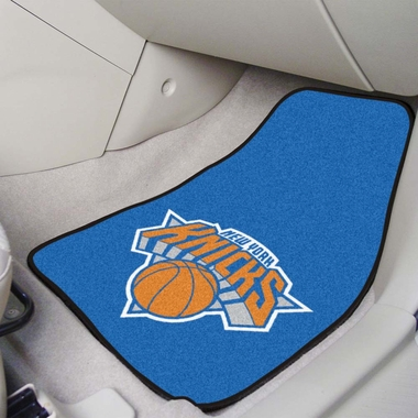 New York Knicks 2 Piece Car Mats
