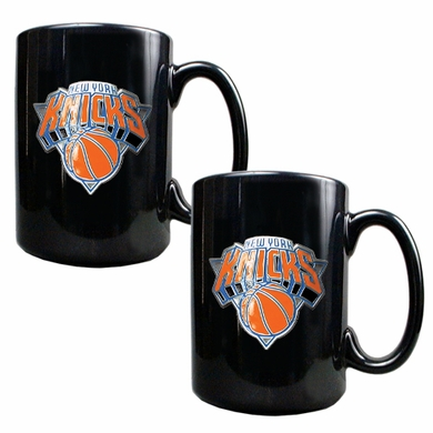 New York Knicks 2 Piece Coffee Mug Set