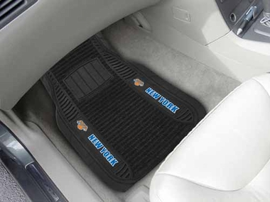 New York Knicks 2 Piece Heavy Duty DELUXE Vinyl Car Mats