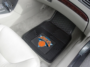 New York Knicks 2 Piece Heavy Duty Vinyl Car Mats