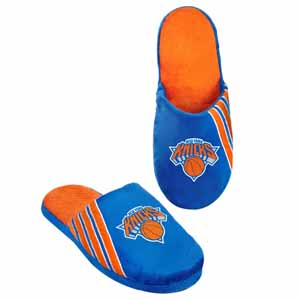 New York Knicks 2012 Team Stripe Logo Slippers - Small