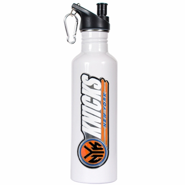 New York Knicks 26oz Stainless Steel Water Bottle (White)