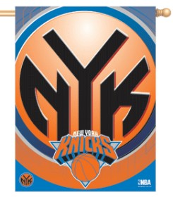 "New York Knicks 27"" x 37"" Banner"