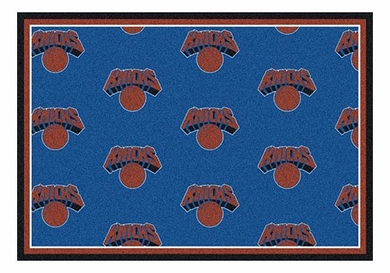"New York Knicks 5'4"" x 7'8"" Premium Pattern Rug"