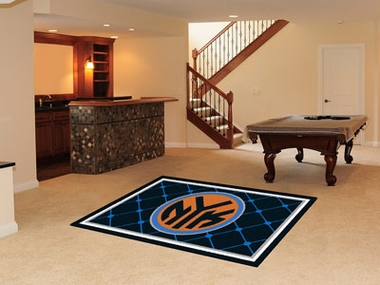 New York Knicks 5 Foot x 8 Foot Rug