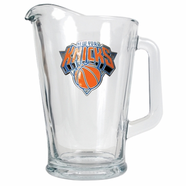 New York Knicks 60 oz Glass Pitcher