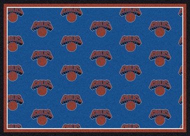 "New York Knicks 7'8 x 10'9"" Premium Pattern Rug"