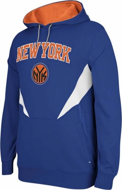New York Knicks Adidas 2013 Resonate Performance Hooded Sweatshirt