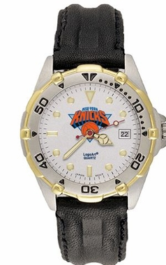 New York Knicks All Star Mens (Leather Band) Watch