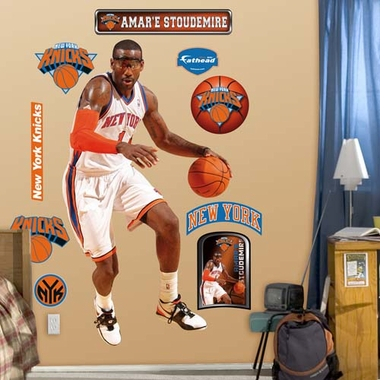 New York Knicks Amar'e Stoudemire Fathead Wall Graphic