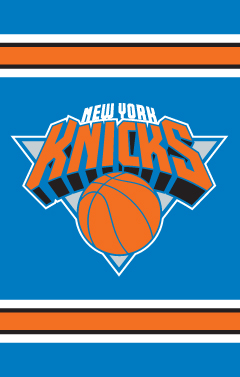 New York Knicks Applique Banner Flag