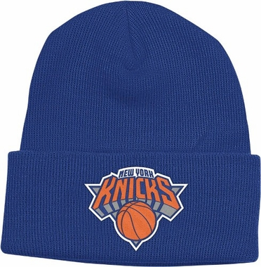 New York Knicks Basic Logo Cuffed Knit Hat