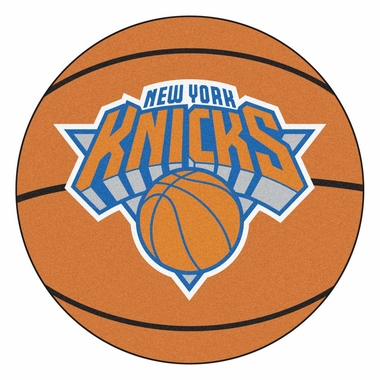 New York Knicks 27 Inch Basketball Shaped Rug