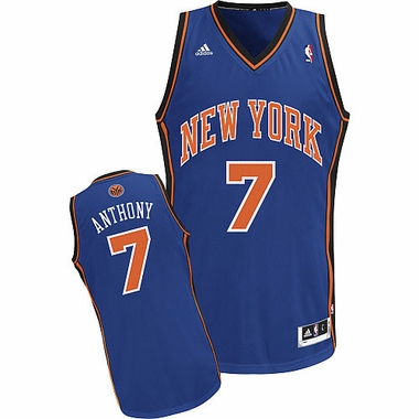New York Knicks Carmello Anthony Revolution 30 Swingman Jersey
