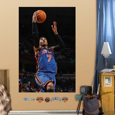 New York Knicks Carmelo Anthony Mural Fathead Wall Graphic