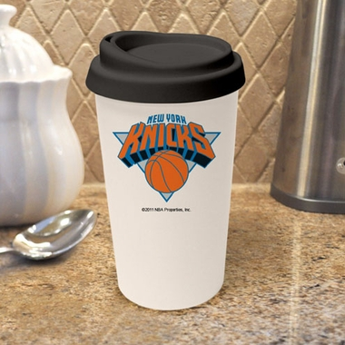 New York Knicks Ceramic Travel Cup