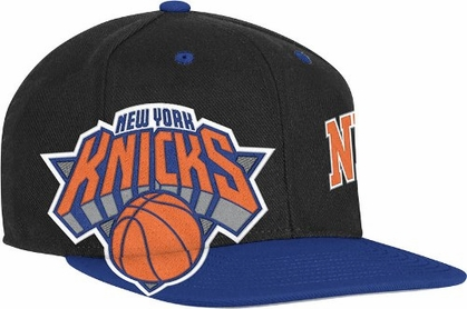 New York Knicks Double Graphic Wool Blend Snap Back Hat