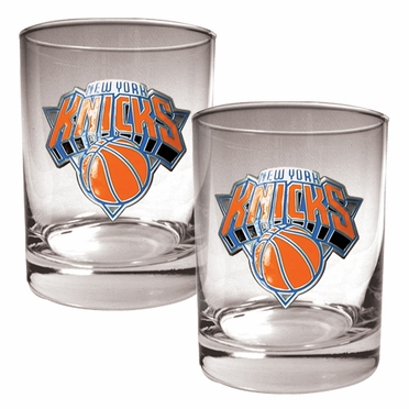 New York Knicks Double Rocks Set